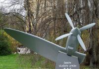 Pomník čs. letcům v RAF, České Budějovice