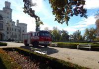 Hasičský dětský den v zámeckém parku Hluboká