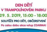 Den dětí v trampolínovém parku Kladno