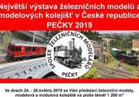 Největší výstava železničních modelů a kolejišť v ČR 2019