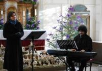 Novoroční koncert manželů Lédlových na hradě Valdštejn