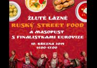 Ruský street food: Masopust s finalistkami Eurovize