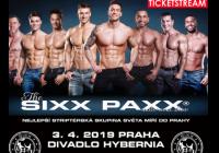 SIXX PAXX LIVE Evropská špička pánském striptýzu