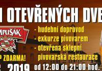Den otevřených dveří Pivovaru Dobruška