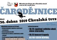 Čarodějnice na Chvalské tvrzi Praha