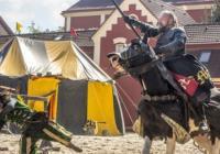 Rytířské turnaje na zámku Dětenice