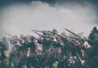 Výcvik arkebuzírů z období Třicetileté války na hradě Veveří