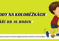 Závody na koloběžkách - Praha