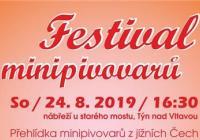 Festival minipivovarů - Týn nad Vltavou