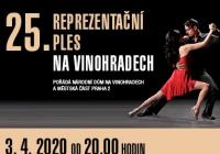 25. Reprezentační ples na Vinohradech