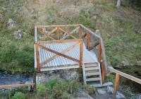 Vyhlídková plošina pod protrženou přehradu, Albrechtice v Jizerských horách