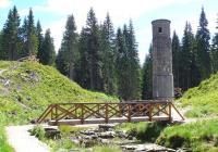 Protržená přehrada, Albrechtice v Jizerských horách