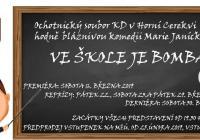Divadlo Horní Cerekev: Ve škole je bomba!