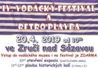 IV. Vodácký festival a retro plavba