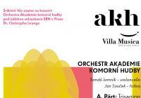 Orchestr Akademie komorní hudby v Kostelci nad Černými lesy