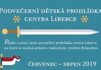 Podvečerní dětské prohlídky města Liberec