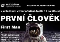 Promítání k výročí přistání Apolla 11 na Měsíci