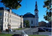 Nový Bor – za církevní architekturou