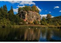 Sloup v Čechách – za skalním hradem, dalekými výhledy i koupáním