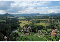 Za skalními vyhlídkami kolem Sloupu v Čechách