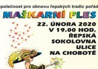 Maškarní ples 2020 - Praha Řepy