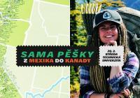Sama pěšky z Mexika do Kanady