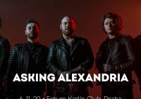 Asking Alexandria v Praze