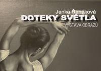 Vernisáž výstavy obrazů Janky Řehákové