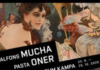 Alfons Mucha a Pasta Oner / Elusive Fusion