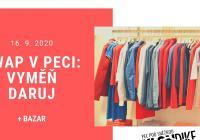 SWAP v Peci: Vyměň, daruj + bazar oblečení