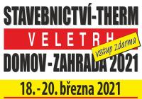 31. Veletrh stavebnictví - Therm - Domov - Zahrada 2021