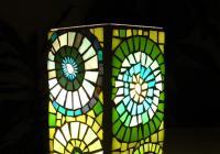 Mozaiková lampička