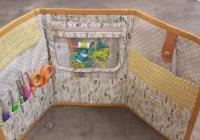 Kurz šití: výroba organizéru na pletací a háčkovací pomůcky