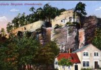 Chata pod hradem, Sloup v Čechách