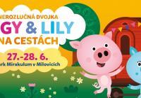 Prasátko Pigy a Lily - Zábavní park Mirakulum v Milovicích