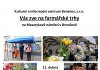 Farmářské trhy 2020 - Benešov