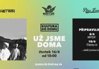 Live stream - Kultura do domu: Už jsme doma | Rock Café online