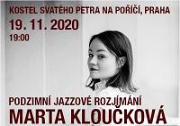 Marta Kloučková Quartet Podzimní jazzové rozjímání