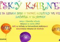 Karneval pro děti 2020 - Dům kultury Vizovice