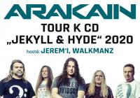 Arakain tour 2020 - Olomouc