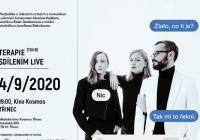 Terapie sdílenim LIVE TOUR 2020 Třinec