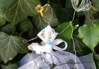 Kterak panenka v květinách tančila - drátenická dílna