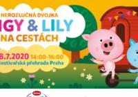 Pigy a Lily na cestách – Hostivařská přehrada
