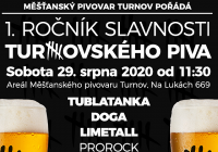 1. Ročník slavnosti Turnovského piva