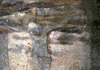 Skalní reliéf Krista, Radvanec
