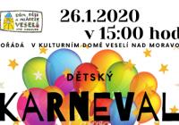 Karneval pro děti 2020 - Veselí nad Moravou