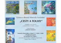 Výstava obrazů Marcely Levinské