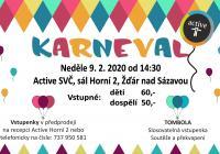 Karneval pro děti 2020 - Žďár nad Sázavou
