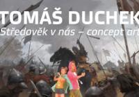 Tomáš Duchek – středověk v nás – concept art
