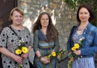 Tři malířky společně ve Zvonici